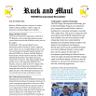 Ruck and Maul Newsletter Issue #2 Thumbnail