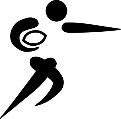 Olympic Sports Rugby Union Pictogram