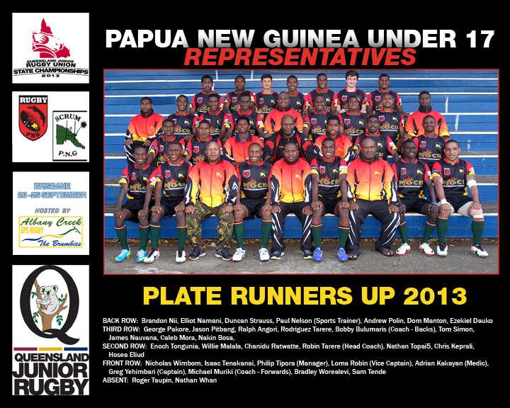 PNG u17 RepTeam 2013